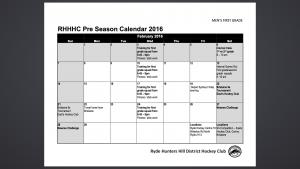 Pre Season 1st Grade Feb 2016
