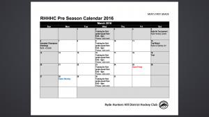Pre Season 1st Grade March 2016